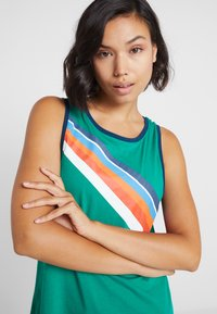 ONLY Play - ONPTANGERINE LOOSE TANK  - Top - greenlake/gibraltar sea/multicolor - 4