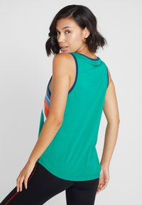 ONLY Play - ONPTANGERINE LOOSE TANK  - Top - greenlake/gibraltar sea/multicolor - 2