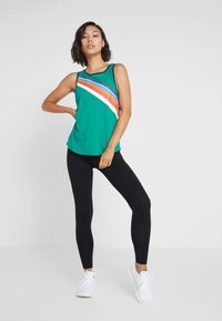 ONLY Play - ONPTANGERINE LOOSE TANK  - Top - greenlake/gibraltar sea/multicolor - 1