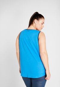 ONLY Play - ONPTANGERINE LOOSE TANK CURVY - Top - french blue/gibraltar sea - 2