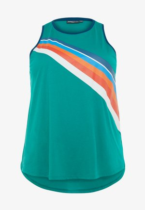 ONPTANGERINE LOOSE TANK CURVY - Top - greenlake/gibraltar sea/multic