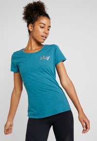 ONLY Play - ONPELECTRA REGULAR TEE - T-shirt print - shaded spruce - 2