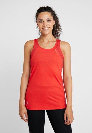 ONPJACKIE LOOSE TRAINING  - Koszulka sportowa - flame scarlet
