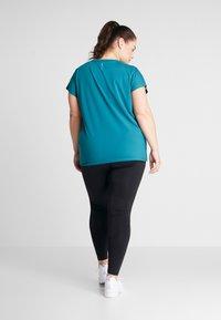 ONLY Play - ONPAUBREE TEE CURVY - Camiseta básica - shaded spruce - 2