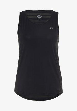 ONPAMELIA TRAINING TANK - Treningsskjorter - black