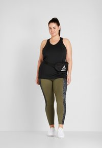 ONLY Play - ONPGOLDIE TRAINING CURVY - Top - black - 1