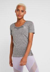 ONLY Play - ONPORA CIRCULAR - Camiseta estampada - dark grey melange - 0