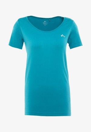 ONPORA CIRCULAR - T-shirt z nadrukiem - shaded spruce