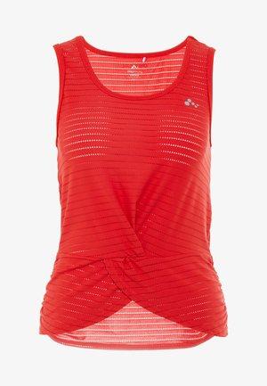 ONPOLYA TRAINING  - Koszulka sportowa - flame scarlet