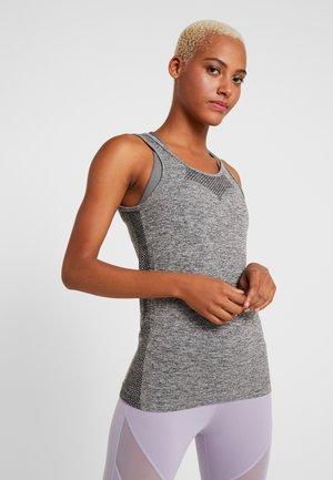 ONPORA CIRCULAR  - T-shirt de sport - dark grey melange