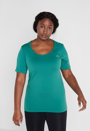 ONPORA CIRCULAR CURVY - Camiseta estampada - shaded spruce