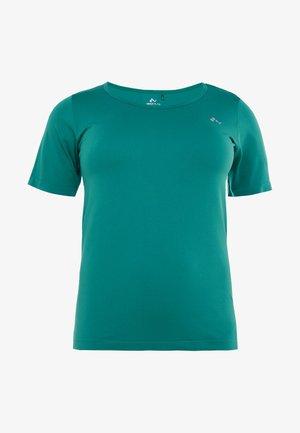 ONPORA CIRCULAR CURVY - Print T-shirt - shaded spruce