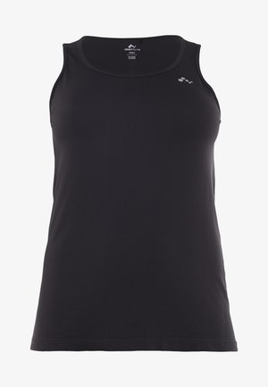 ONPORA CIRCULAR CURVY - Sports shirt - black