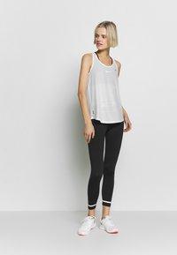 ONLY Play - LOOSE TRAINING TANK - Treningsskjorter - white - 1