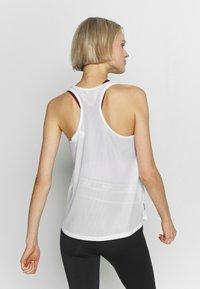 ONLY Play - LOOSE TRAINING TANK - Treningsskjorter - white - 2