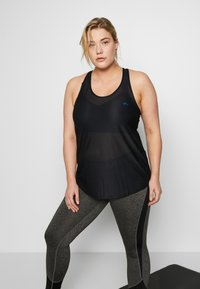 ONLY Play - ONPDAI LOOSE TRAINING TANK - Top - black - 0