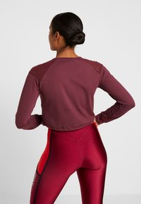 ONLY Play - ONPJAVA CROPPED TEE - Long sleeved top - purple - 2