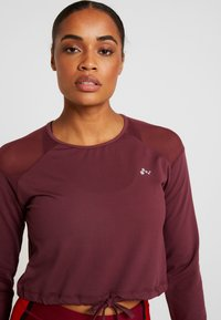 ONLY Play - ONPJAVA CROPPED TEE - Long sleeved top - purple - 3