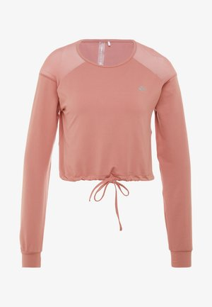 ONPJAVA CROPPED TEE - Topper langermet - dusty rose