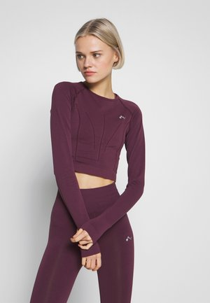 ONPJAVA CIRCULAR CROPPED - Sports shirt - fig