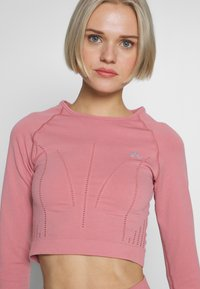 ONLY Play - ONPJAVA CIRCULAR CROPPED - Sports shirt - dusty rose - 3