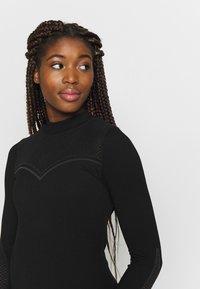 ONLY Play - ONPJAMINA SLIM CIRCULAR - Sports shirt - black - 3