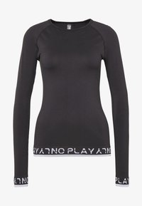 ONLY Play - ONPPERFORMANCE CIRCULAR  - T-shirt sportiva - black/white - 3