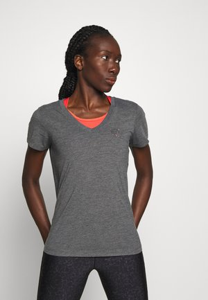 ONPMAE V NECK TEE - Basic T-shirt - turbulence