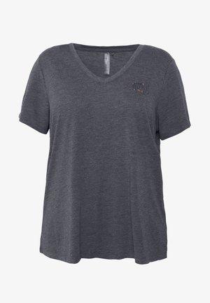 ONPMAE TEE CURVY - T-shirt basic - turbulence