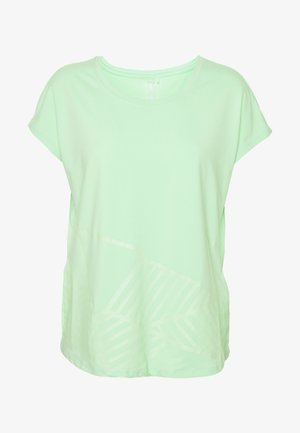 ONPMAGDALENA LOOSE TRAINING TEE - Print T-shirt - green ash