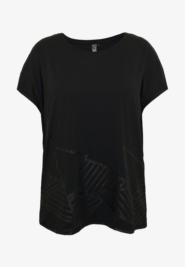 ONPMAGDALENA LOOSE TEE  - Printtipaita - black