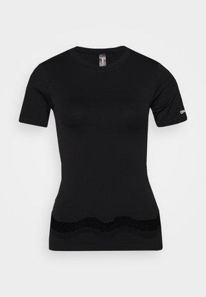 ONPADELYNN CIRCULAR TEE - T-shirts med print - black