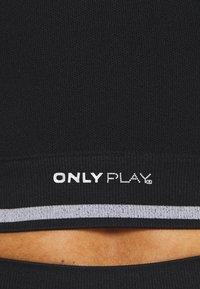 ONLY Play - ONPAILA CIRCULAR SPORTS - Top - black/white - 6