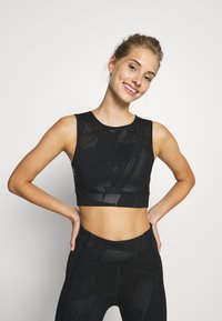 ONLY Play - ONPMADO CROPPED TRAINING - Topper - black - 0