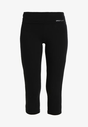 3/4 sports trousers - black
