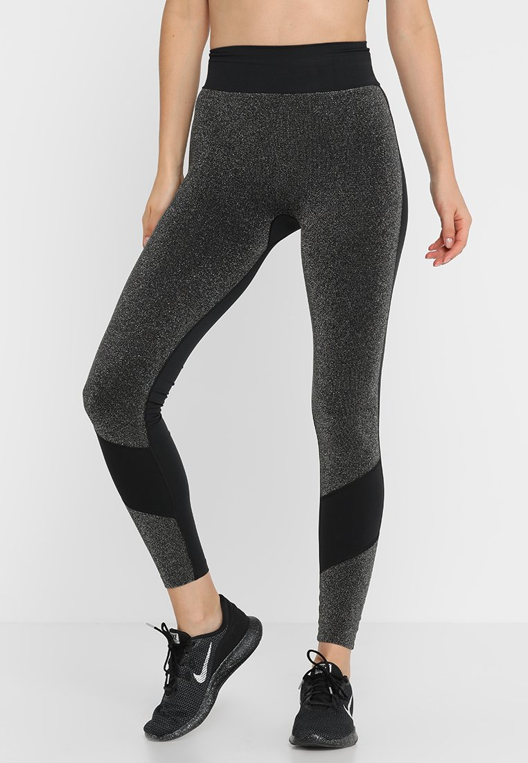 ONLY Play - ONPSPARKEL SEAMLESS - Collant - black