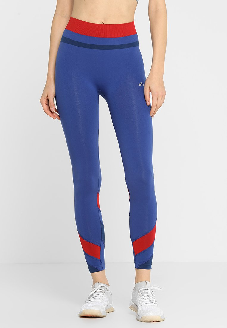 ONLY Play - ONPCHERRY CIRCULAR TRAINING - Collants - sodalite blue