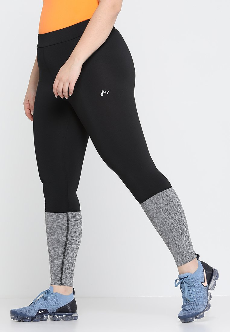 ONLY Play - ONPHANA TRAINING TIGHTS CURVY - Tights - black