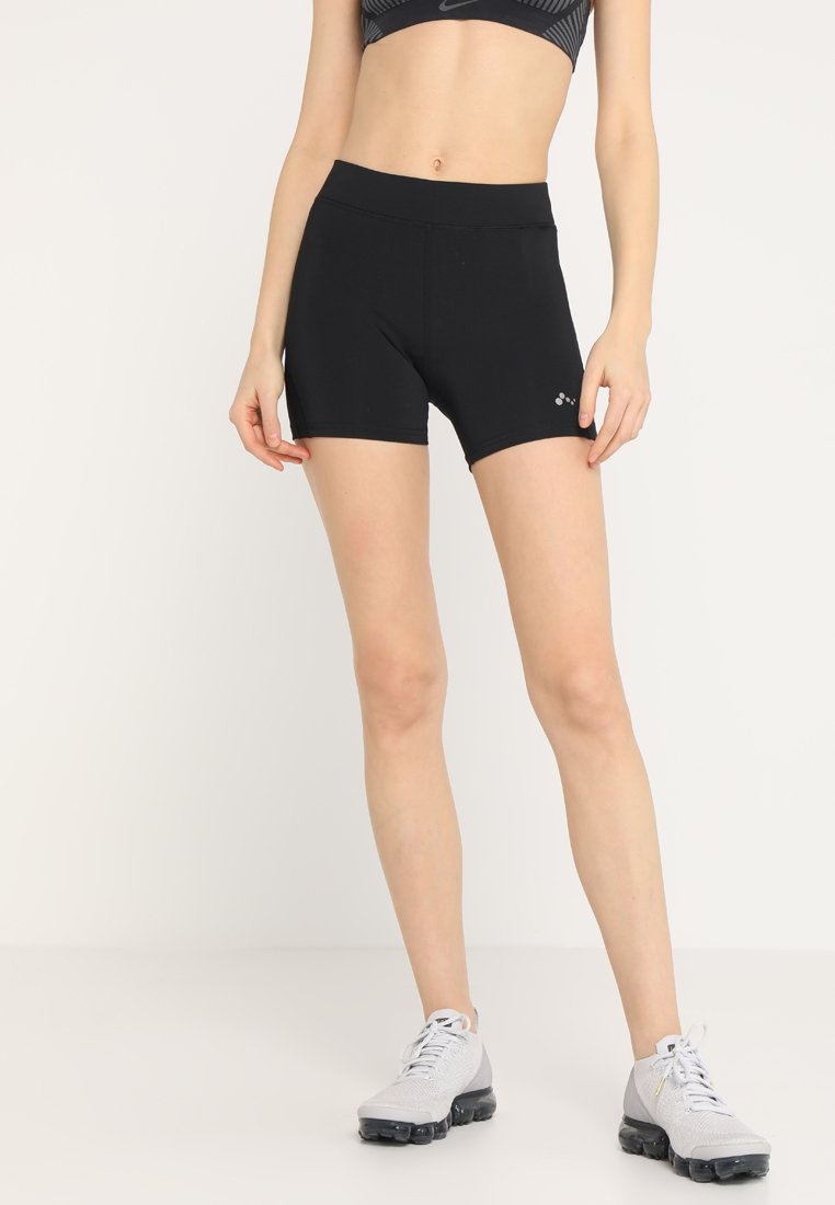 ONLY Play - ONPFELINE RUN SHORTS - Tights - black