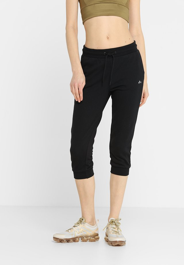 ONPELINA 3/4 PANTS - Jogginghose - black
