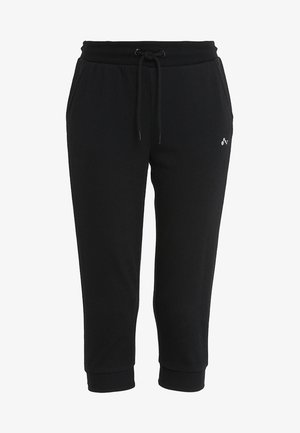 ONPELINA 3/4 PANTS - Tracksuit bottoms - black