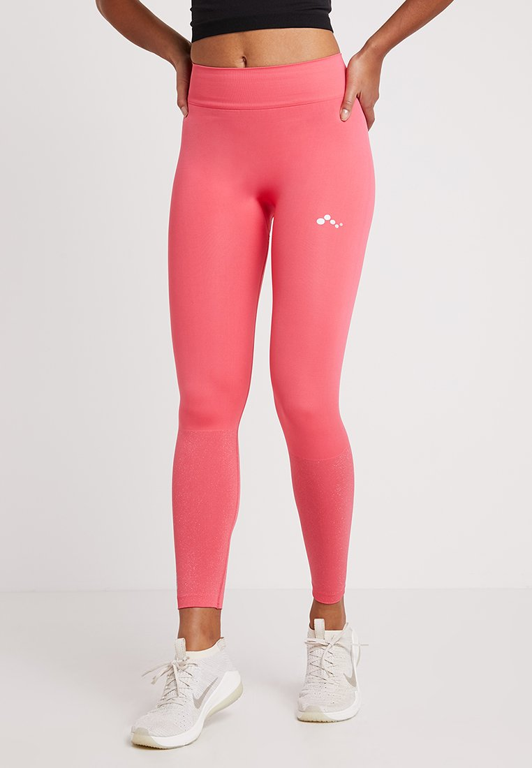 ONLY Play - ONPCILANTRO SEAMLESS - Tights - paradise pink