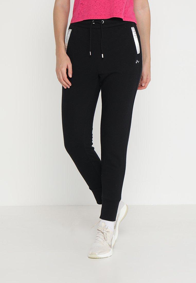 ONLY Play - ONPISABELLA LOOSE PANTS - Jogginghose - black