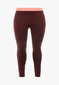 ONLY Play - ONPCALEXIA TRAINING CURVY - Tights - paradise pink/fig/neon - 3