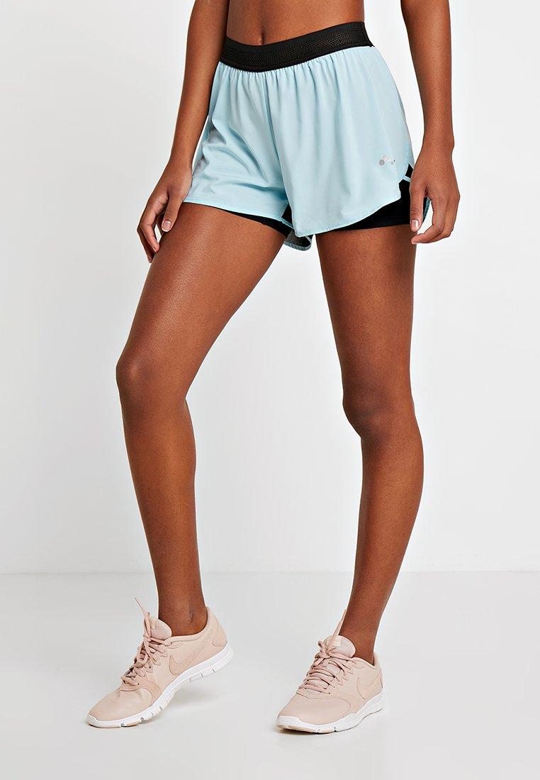 ONLY Play - ONPMARINE TRAINING - Sports shorts - light blue