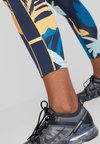 ONLY Play - ONPSPRING 7/8 LEGGING - Legginsy - blue nights/multicolor