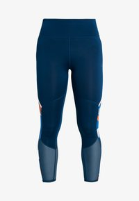 ONLY Play - ONPTANGERINE 7/8  TRAINING  - Collants - gibraltar sea/multicolor - 4