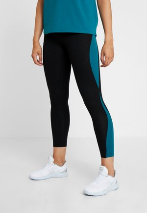 ONPJOYCE LEGGINGS - Tights - black/shaded spruce