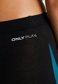 ONLY Play - ONPJOYCE LEGGINGS - Punčochy - black/shaded spruce - 5