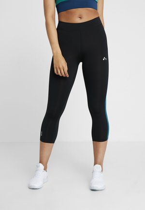 ONPJUNA 3/4 TRAINING  - 3/4 sports trousers - black/shaded spruce
